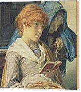In Church Wood Print by Luigi da Rios