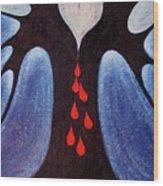 In Despair Wood Print