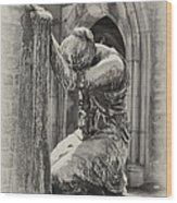 In Grief Wood Print