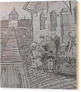 In Memoriam - Names For Lost Children Wood Print