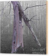 In Memory Of A Tree Wood Print
