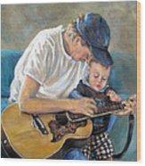 In Memory Of Baby Jordan Wood Print