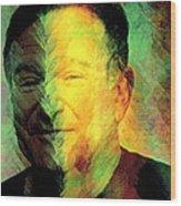In Memory Of Robin Williams Wood Print