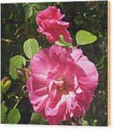 In My Garden Wood Print