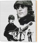 In My Life  John Lennon Wood Print