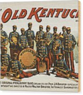 In Old Kentucky Wood Print