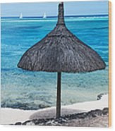 In Perfect Balance. Beach Life Wood Print