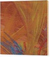 In Piedi All Interno Di Confusione Wood Print