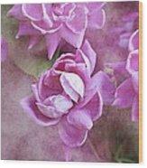 In Pink Wood Print