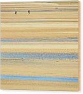 In Tasman Sands Wood Print