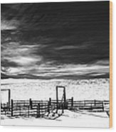 In The Bleak Midwinter Wood Print