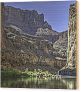 In The Canyon Wood Print