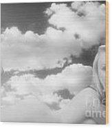 In The Cloud 1082 .01 Wood Print
