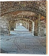 In The Fort Arches Wood Print
