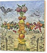 In The Garde Of Eden Wood Print