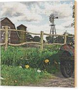 In The Heartland Wood Print