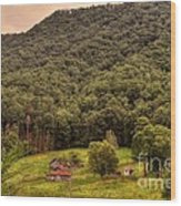 In The Hills Of Virginia Wood Print