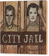 In The Jailhouse Now Wood Print