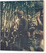 In The Jungle - Vietnam Wood Print