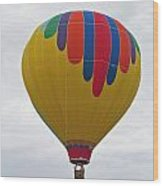 In The Middle Balloon Wood Print