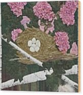 In The Pink Wood Print