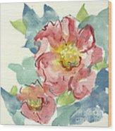 In The Pink II Wood Print