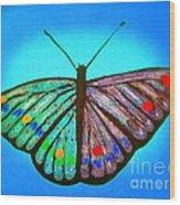 Cosmic Butterfly  Wood Print