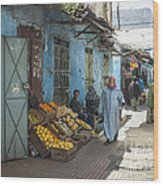 In The Souk Wood Print