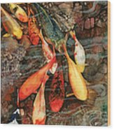 In The Swim Wood Print