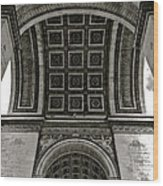 In Triomphe Wood Print