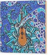 In Tune Wood Print
