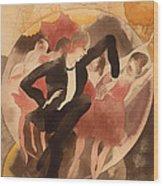 In Vaudeville Wood Print