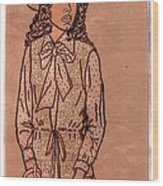 In Vogue Wood Print