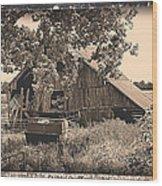 In Years Past Wood Print