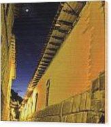 Incan Street Cusco Peru Wood Print