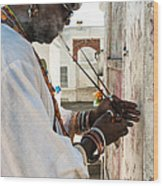 Incense For Marie Laveau Wood Print by Kathleen K Parker
