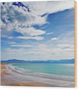 Inch Beach, Dingle Peninsula, County Wood Print