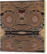 Incognescent  Wood Print