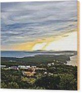 Incoming Storm Over Losinj Island Wood Print