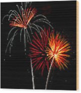 Independence Day  Wood Print