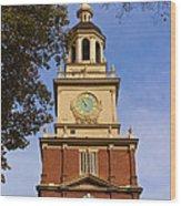 Independence Hall Wood Print