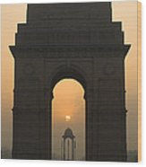 India Gate, Delhi Wood Print