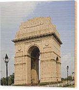 India Gate, New Delhi, India Wood Print