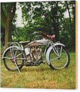 Indian 1913 Wood Print