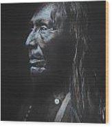 Indian Apache I  Wood Print
