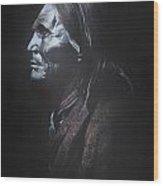 Indian Apache II  Wood Print