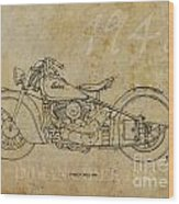 Indian Chief 1948 Wood Print