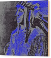 Indian Chief Wood Print