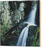 Indian Falls Wood Print