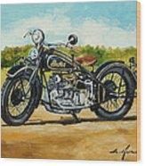 Indian Four 1933 Wood Print